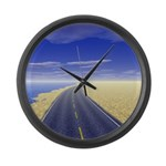 Fine Day Large Wall Clock