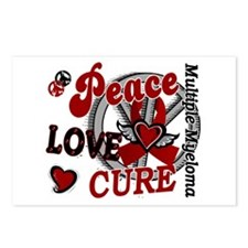 Multiple Myeloma Peace Lo Postcards (Package of 8)