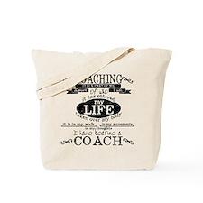 Chalkboard Coach Tote Bag