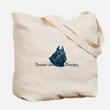 Bouvier des Flandres Black Tote Bag