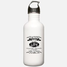 Chalkboard Coach Water Bottle