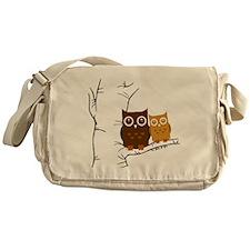 Owls Messenger Bag
