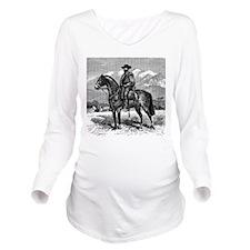 Chilean Cowboy (El H Long Sleeve Maternity T-Shirt