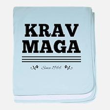 Krav Maga since 1944 baby blanket