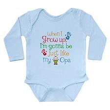 Grandson Grow Up Like Long Sleeve Infant Bodysuit
