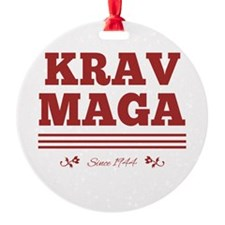 Krav Maga since 1944 red Ornament