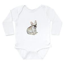 French Bulldog (#2) Long Sleeve Infant Bodysuit