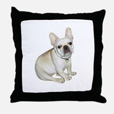 French Bulldog (#2) Throw Pillow