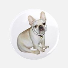 "French Bulldog (#2) 3.5"" Button"