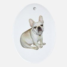 French Bulldog (#2) Ornament (Oval)