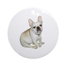 French Bulldog (#2) Ornament (Round)