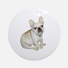 French Bulldog (#2) Ornament (Round)