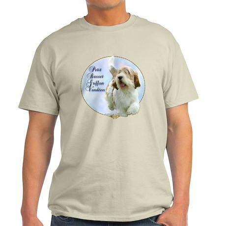 PBGV Portrait Light T-Shirt