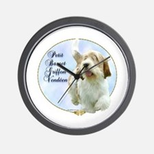 PBGV Portrait Wall Clock