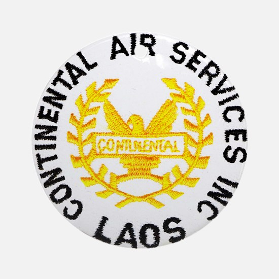 Continental Air Laos Ornament (Round)
