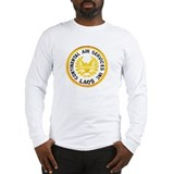 Military continental air laos Long Sleeve T-shirts