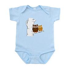 Owls Infant Bodysuit