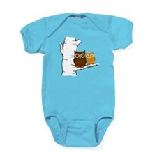 Owls Baby Bodysuit