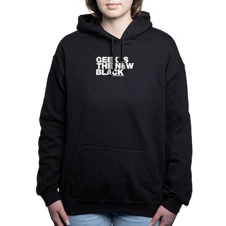 geekisthenewblack.png Hooded Sweatshirt