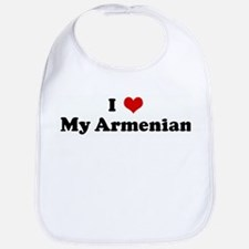 I Love My Armenian Bib