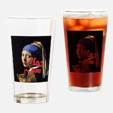 Call me Vermeer Drinking Glass