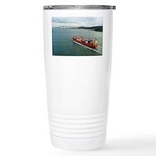 large container ship Travel Mug