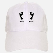 Left/Right Feet Baseball Baseball Cap