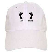 Left/Right Feet Baseball Cap