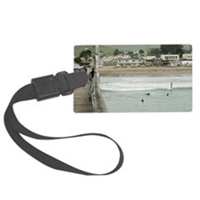 Cayucos Pier View Luggage Tag