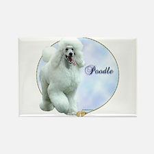 Poodle Portrait Rectangle Magnet