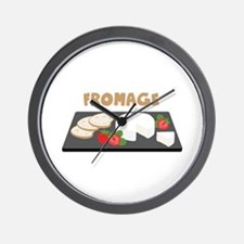 Fromage Wall Clock