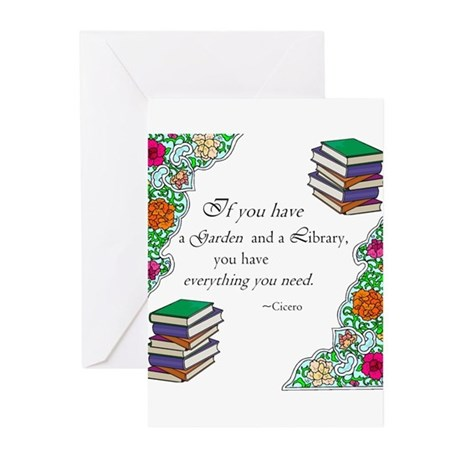 Cicero quote Greeting Cards (Pk of 10)