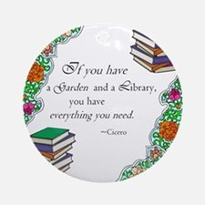 Cicero quote Ornament (Round)