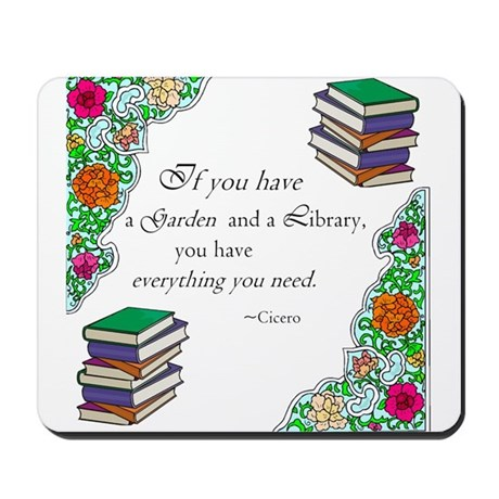 Cicero quote Mousepad