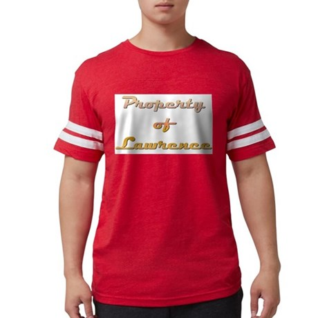 Property Of Lawrence Male T-Shirt