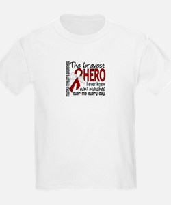 Multiple Myeloma Bravest Hero T-Shirt