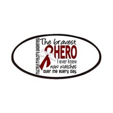 Multiple Myeloma Bravest Hero Patches