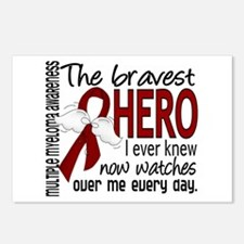 Multiple Myeloma Bravest Postcards (Package of 8)