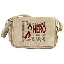 Multiple Myeloma Bravest Hero Messenger Bag