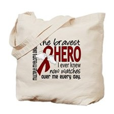 Multiple Myeloma Bravest Hero Tote Bag