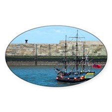 Replica of the bark Endeavour Decal
