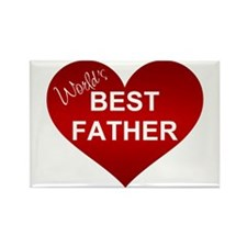WORLD'S BEST FATHER Rectangle Magnet
