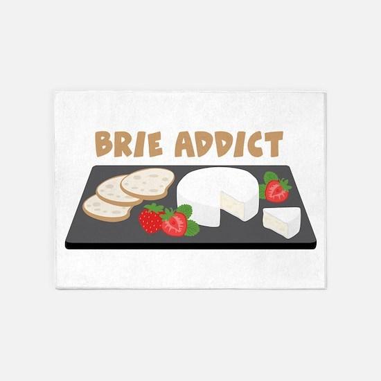 Brie Addict 5'x7'Area Rug