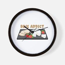 Brie Addict Wall Clock