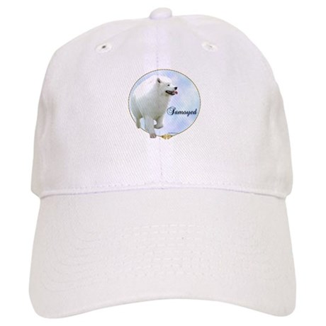 Samoyed Portrait Cap