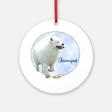 Samoyed Portrait Ornament (Round)
