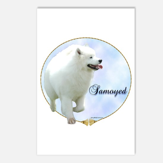 Samoyed Portrait Postcards (Package of 8)