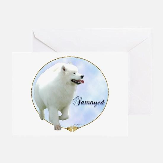 Samoyed Portrait Greeting Cards (Pk of 10)