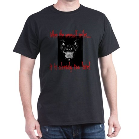 Werewolf Smiles Dark T-Shirt