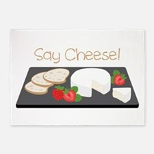 Say Cheese 5'x7'Area Rug